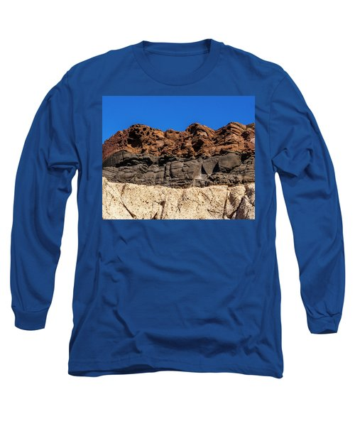 4 Textures 4 Colors Long Sleeve T-Shirt