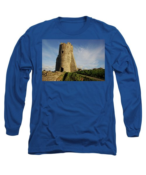 Aberystwyth. The Castle Gatehouse. Long Sleeve T-Shirt