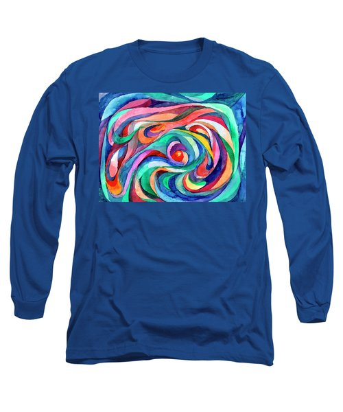 Abstract Underwater World Long Sleeve T-Shirt