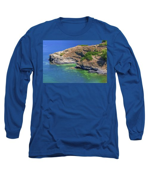 Aegean Coast In Bali Long Sleeve T-Shirt
