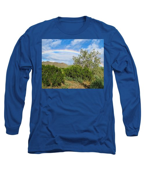 After An Arizona Winter Rain Long Sleeve T-Shirt