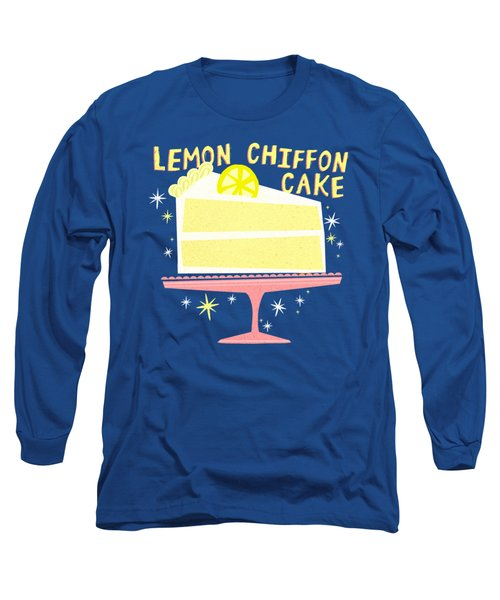 All American Classic Lemon Chiffon Cake Long Sleeve T-Shirt