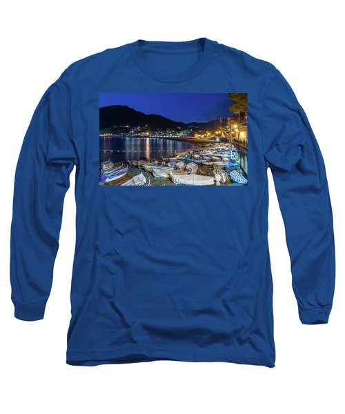 An Evening In Levanto Long Sleeve T-Shirt
