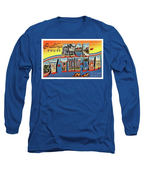 Avon-by-the-sea Greetings Long Sleeve T-Shirt