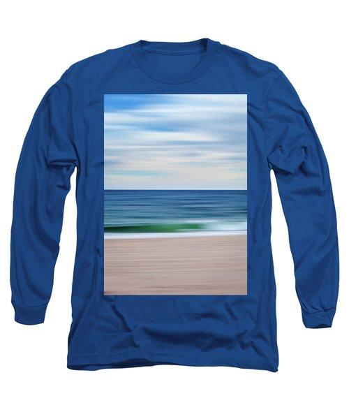 Beach Blur Long Sleeve T-Shirt