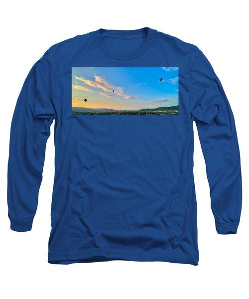 Binghamton Spiedie Festival Air Ballon Launch Long Sleeve T-Shirt