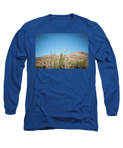 Blooming Ocotillo Long Sleeve T-Shirt