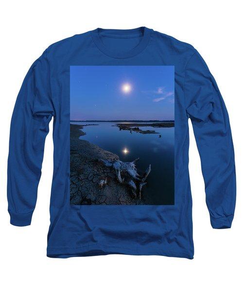 Blue Moonlight Long Sleeve T-Shirt
