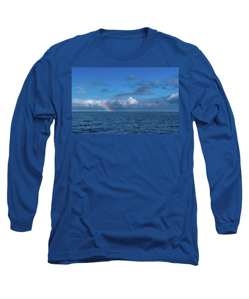 Blue Rainbow Horizon Long Sleeve T-Shirt