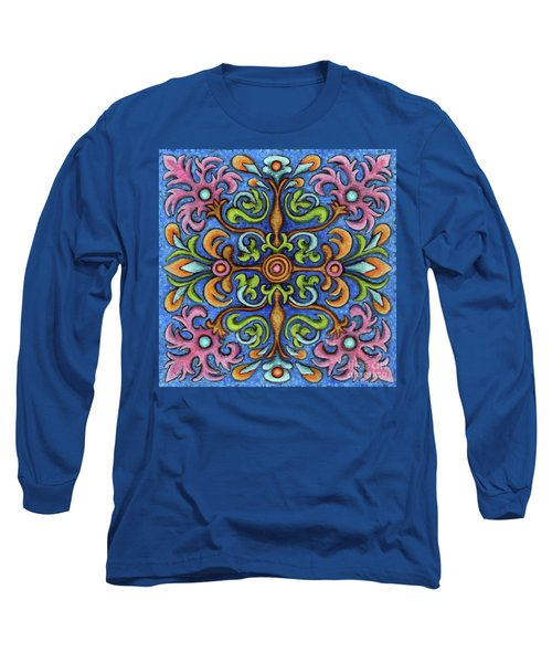 Botanical Mandala 2 Long Sleeve T-Shirt
