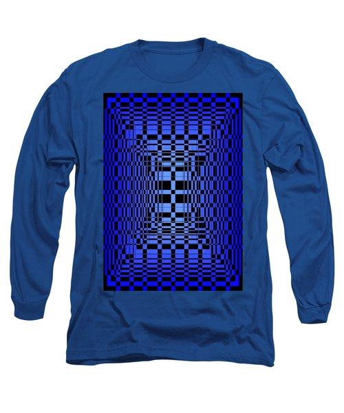Brave Blue  Long Sleeve T-Shirt