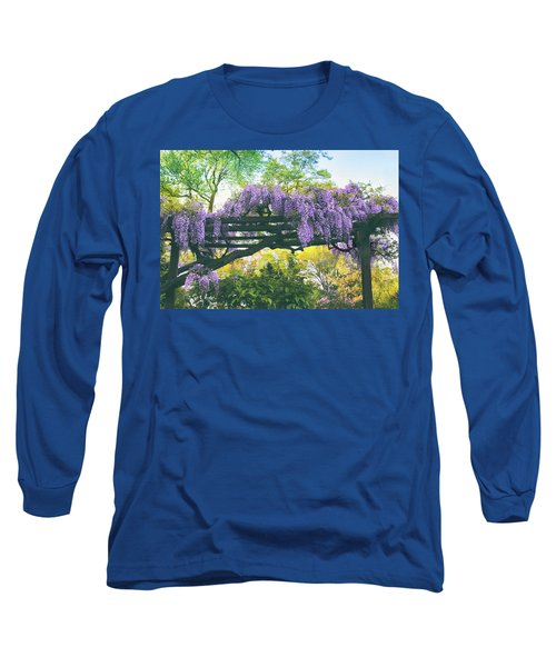 A Whiff Of Wisteria   Long Sleeve T-Shirt