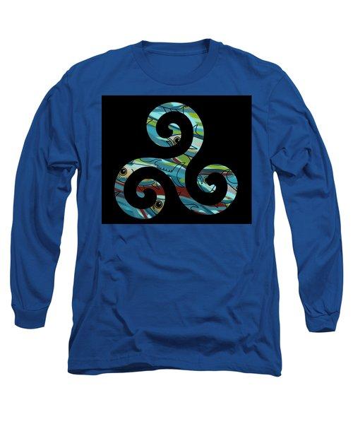 Celtic Spiral 2 Long Sleeve T-Shirt