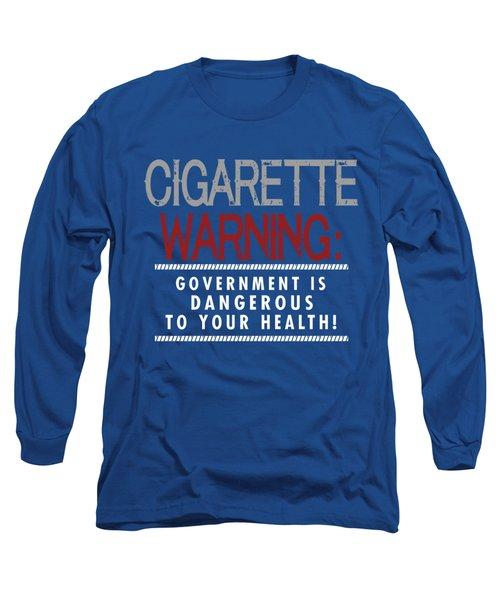 Cigarette Warning Long Sleeve T-Shirt