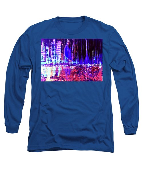 City By The Sea Right Long Sleeve T-Shirt