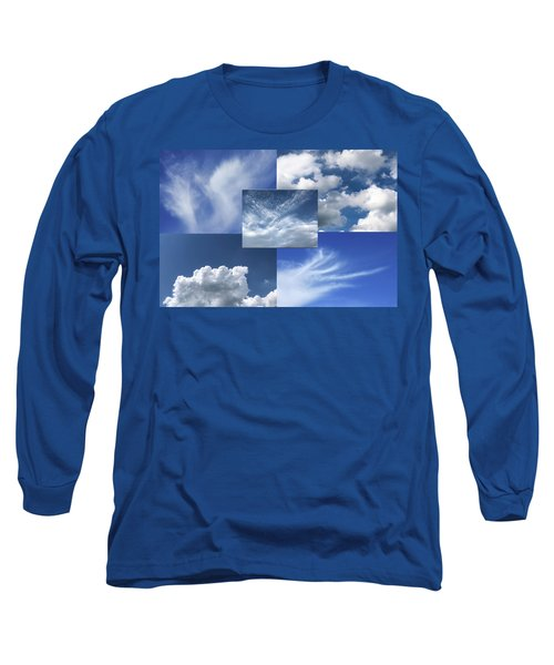 Cloud Collage Two Long Sleeve T-Shirt