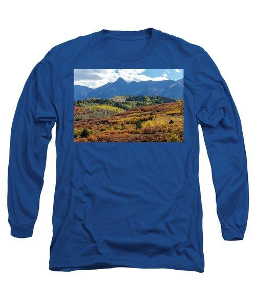 Long Sleeve T-Shirt featuring the photograph Colorado Color Bonanza by James BO Insogna