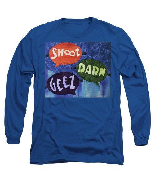 Colorful Language Long Sleeve T-Shirt