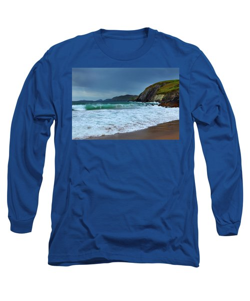 Coumeenoole Beach At Slea Head, Dingle Long Sleeve T-Shirt
