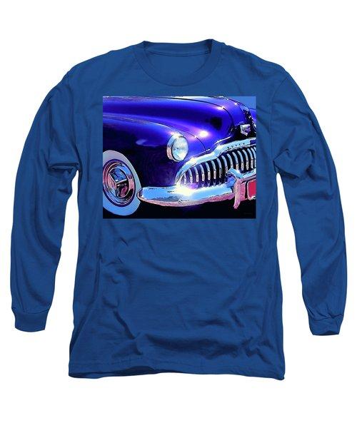 Custom 1949 Purple Buick Long Sleeve T-Shirt