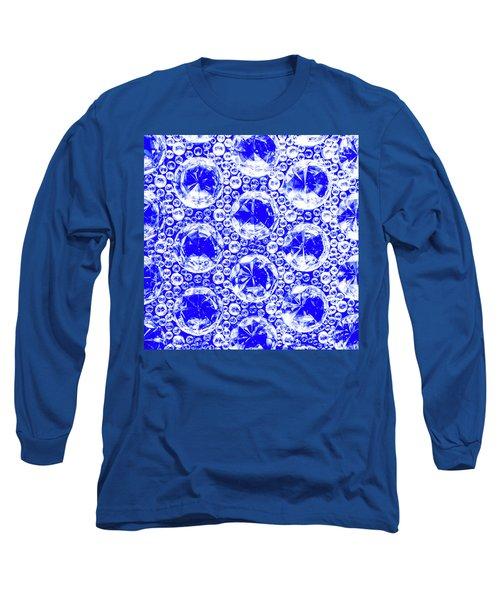 Cut Glass Beads 1 Long Sleeve T-Shirt