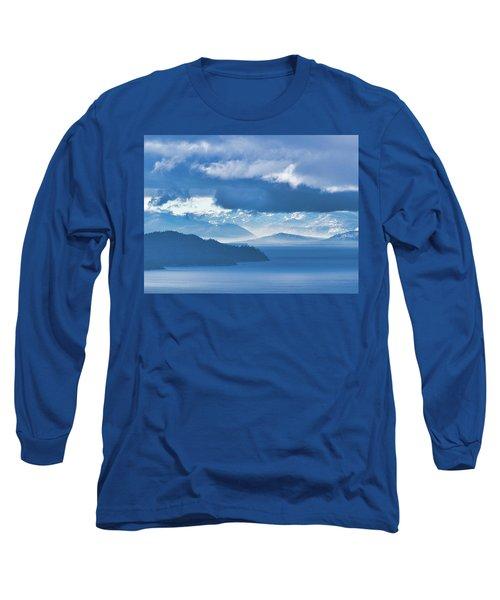 Dreamy Kind Of Blue Long Sleeve T-Shirt