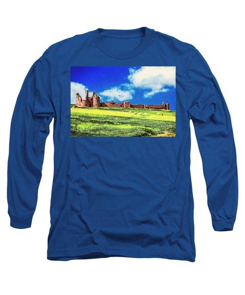 Dunstanburgh Castle In Oil Long Sleeve T-Shirt