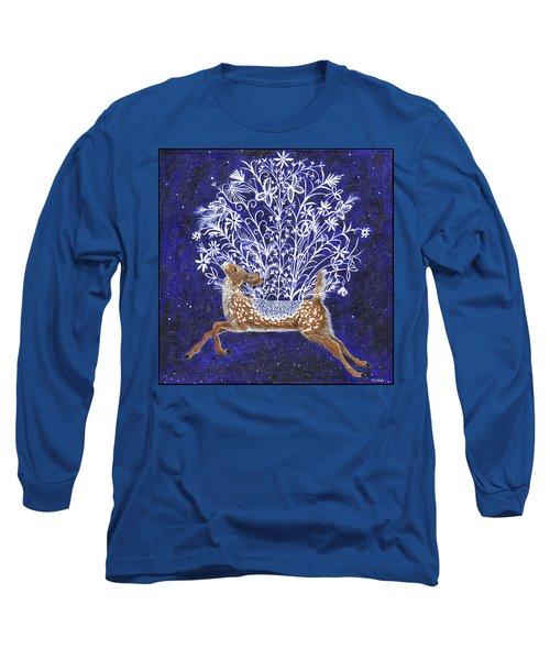 Fawn Bouquet Long Sleeve T-Shirt