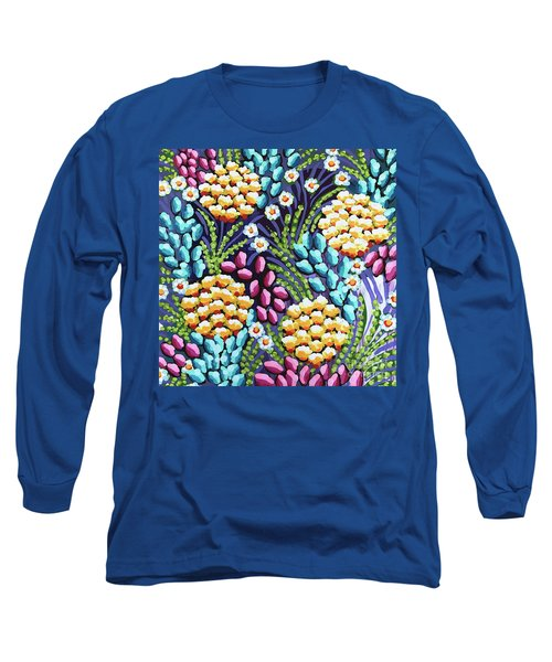Floral Whimsy 2 Long Sleeve T-Shirt