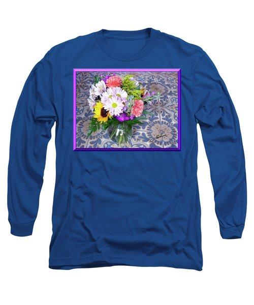 Flower Bouquet  Long Sleeve T-Shirt