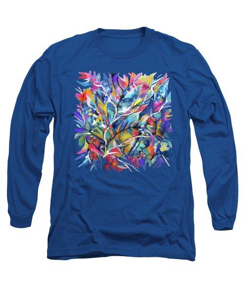 Flowered Vine Long Sleeve T-Shirt