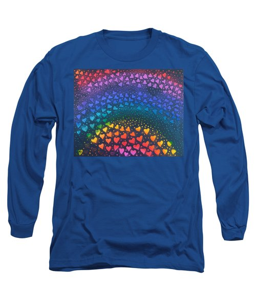 Follow Your Heart To Happiness Long Sleeve T-Shirt