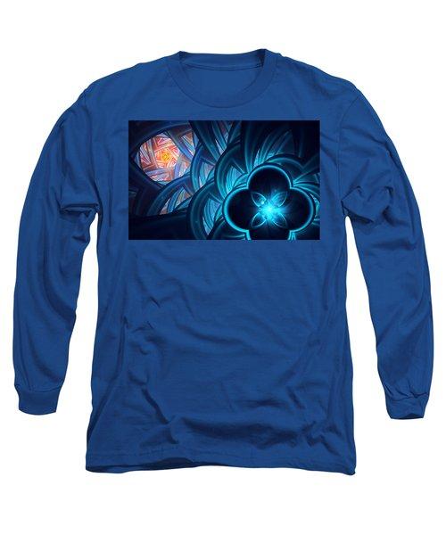 Fractal 1 Long Sleeve T-Shirt