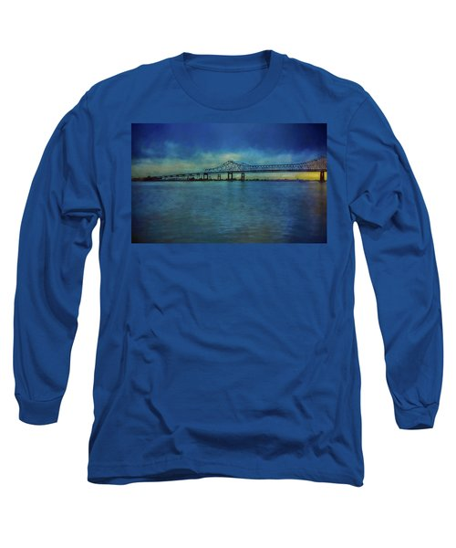 Greater New Orleans Bridge Long Sleeve T-Shirt