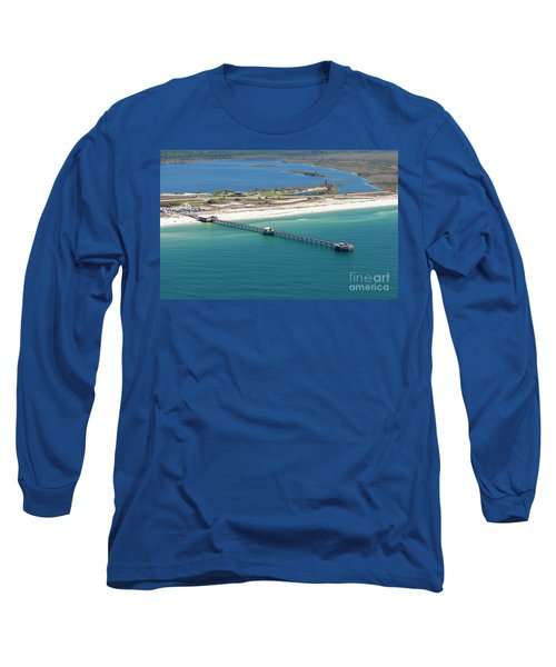 Gulf State Park Pier 7464n Long Sleeve T-Shirt