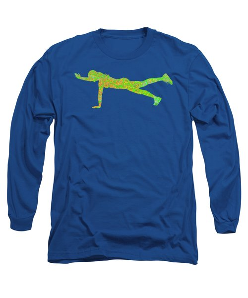 Gym Art 1 Long Sleeve T-Shirt