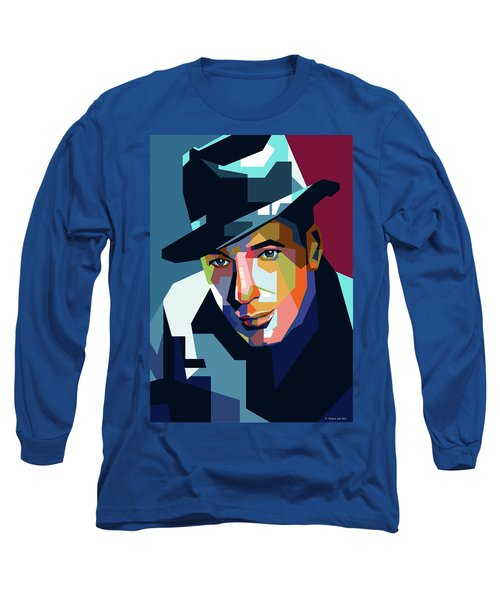 Humphrey Bogart Long Sleeve T-Shirt
