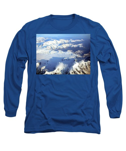 Icebound Mountains Long Sleeve T-Shirt