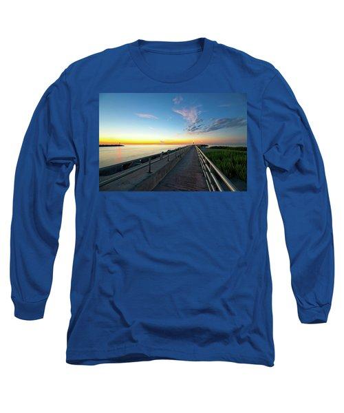 Jupiter Inlet Morning Sky Long Sleeve T-Shirt