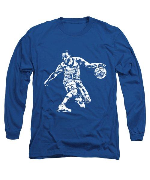Kemba Walker Charlotte Hornets T Shirt Apparel Pixel Art 3 Long Sleeve T-Shirt