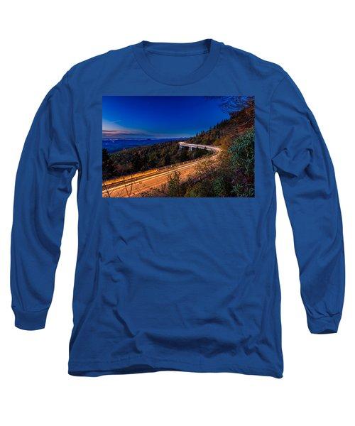 Linn Cove Viaduct - Blue Ridge Parkway Long Sleeve T-Shirt