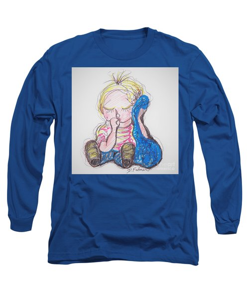 Linus And Blanky After Charles Shultz Long Sleeve T-Shirt
