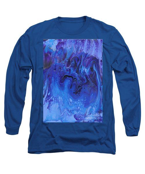 Living Water Abstract Long Sleeve T-Shirt
