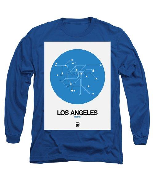 San Francisco Blue Subway Map Long Sleeve T-Shirt