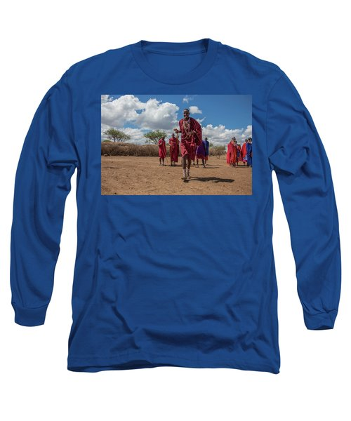 Maasai Welcome Long Sleeve T-Shirt