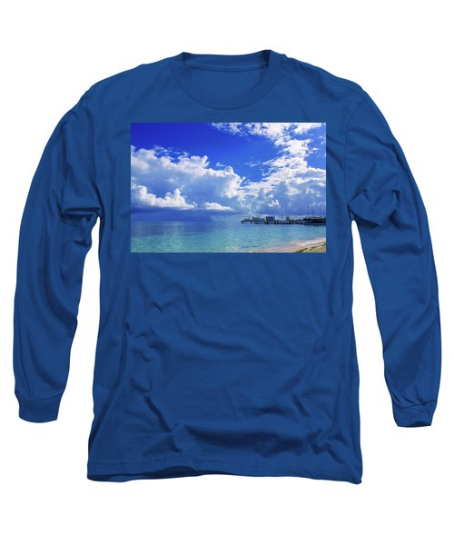 Massive Caribbean Clouds Long Sleeve T-Shirt