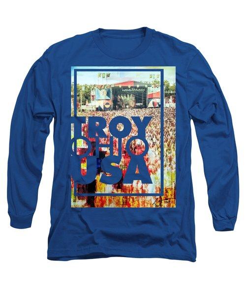 690187781a25 Ohio Stadium Long Sleeve T-Shirts   Fine Art America