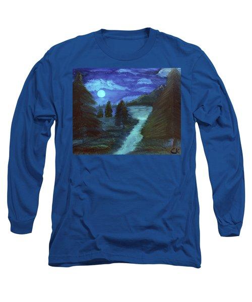 Midnight River Long Sleeve T-Shirt