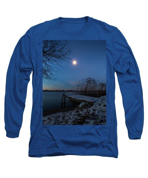Moonlight Over The Lake Long Sleeve T-Shirt