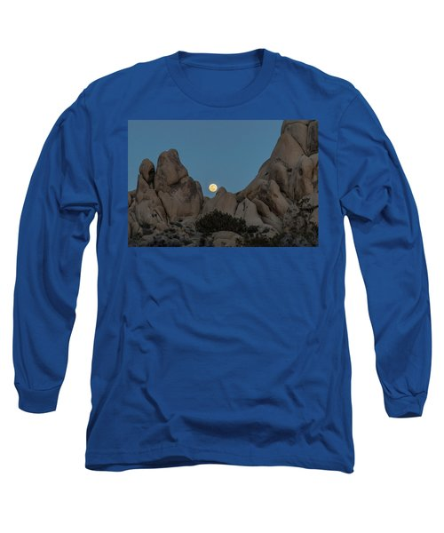 Moonrise In The Sight Long Sleeve T-Shirt